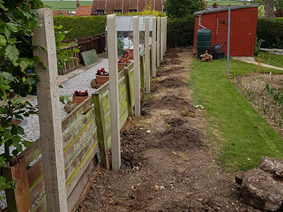 Fencing before