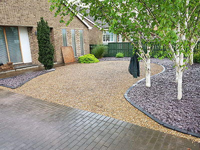 Gravel drive in Beverley
