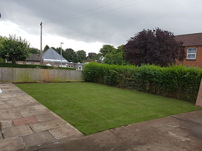 New lawn in Beverley