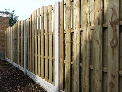 New fence in Beverley