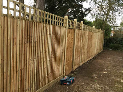 New fencing in Beverley